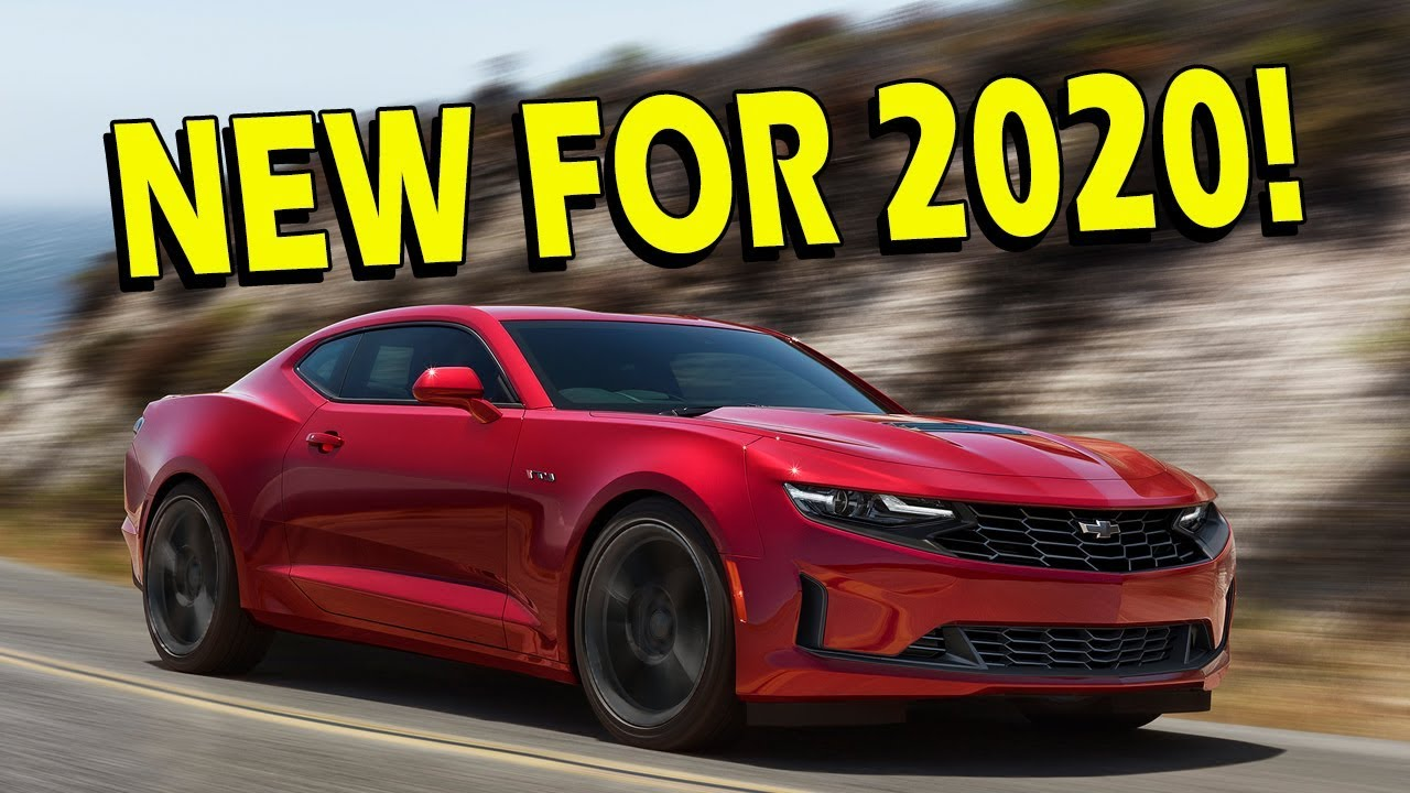 2019/2020 Camaro What is the Difference? - YouTube