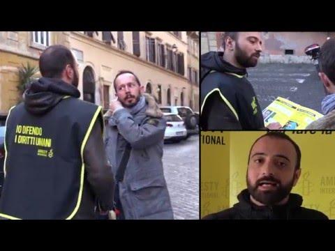 Lavora con Amnesty International
