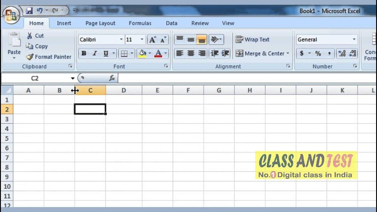 Excel 5 Mouse Cursor On Worksheet