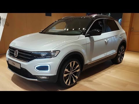 der neue vw t roc volkswagen 2017 sport vs style 4motion. Black Bedroom Furniture Sets. Home Design Ideas