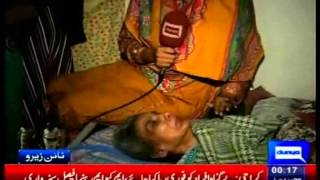 grieved family of martyr waqas ali shah the youngest son who got killed by rangers