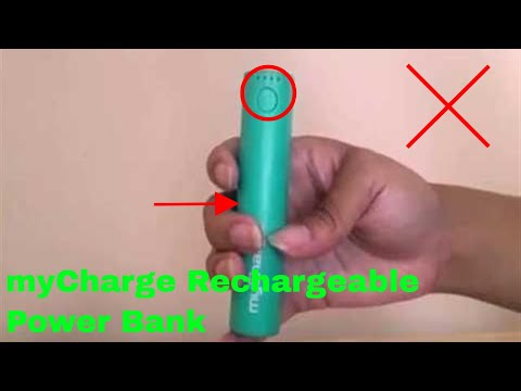 ✅  How To Use myCharge Sojourn Rechargeable Power Bank Review