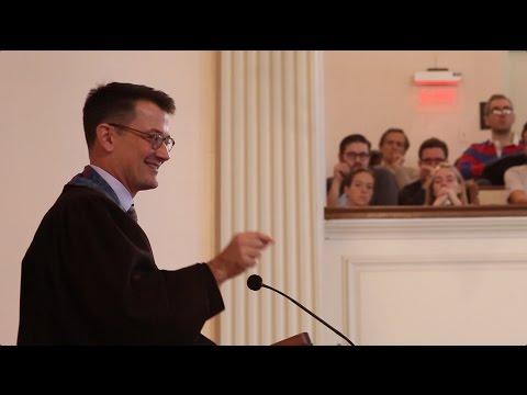 A Healing Sermon at an Historic Church