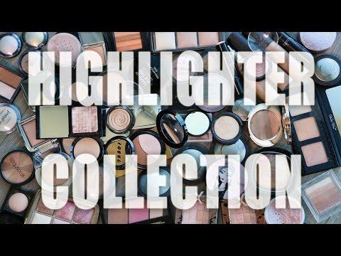 HIGHLIGHTER COLLECTION | Makeup Graveyard 2016 - Tati (GlamLifeGuru)