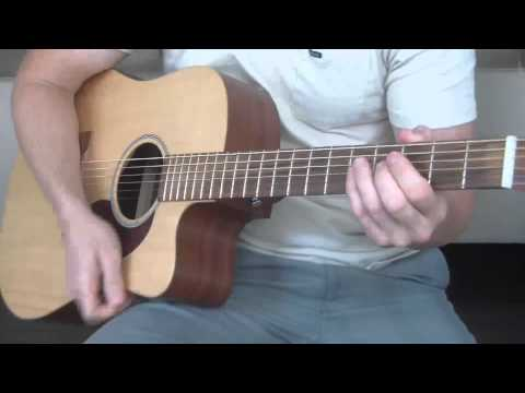 Bob Dylan and Johnny Cash - Girl From The North Country Guitar Lesson