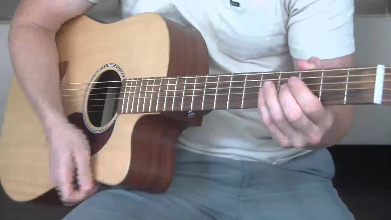 Bob Dylan and Johnny Cash   Girl From The North Country Guitar Lesson