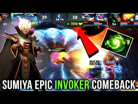 Sumiya Most EPIC Comeback with Invoker 30k...