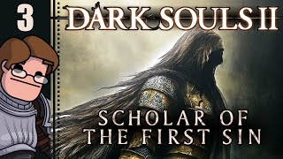 Dark Souls II: Scholar of the First Sin Part 3 - First Pursuer Encounter...with a surprise!