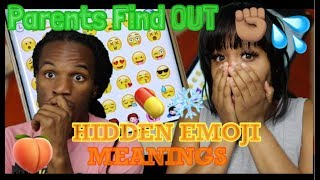Do Parents Know Secret Emoji Meanings? | REACTION WILD 🤣