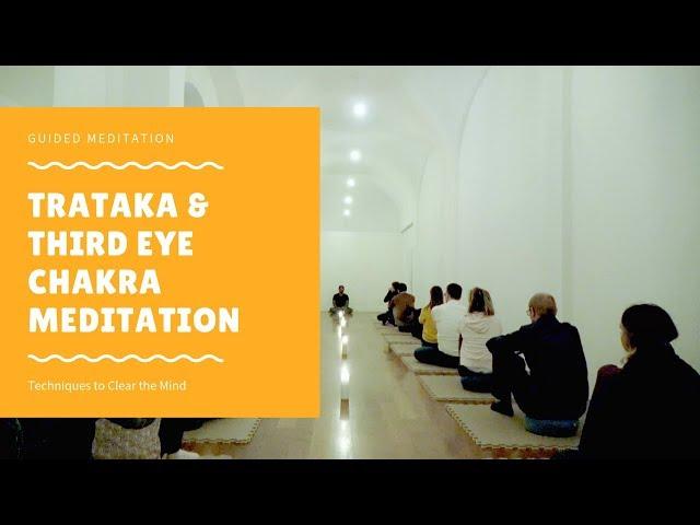 Trataka Meditation Technique | Full Guided Meditation Session #3085 | Dhyanse