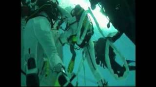 Training astronauts for space - under water