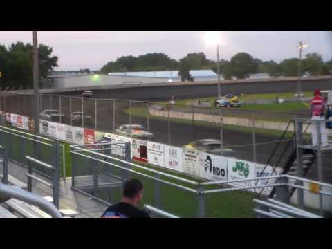 Stock Car Heat 1 @ Fairmont Raceway 09/01/16