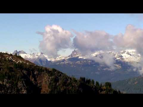8th October 2017 - Whistler Olympic Park, Canada - view