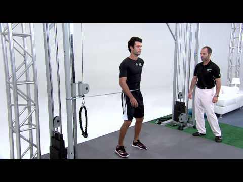 Golf Exercise – Cable Hip Rotation