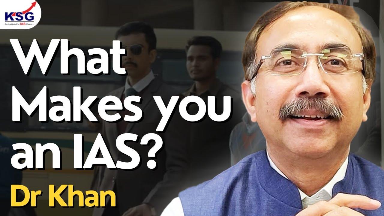 Dr Khan, Toppers Meet, KSG Central Delhi, KSG India