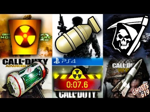 NUKE in EVERY CoD Challenge