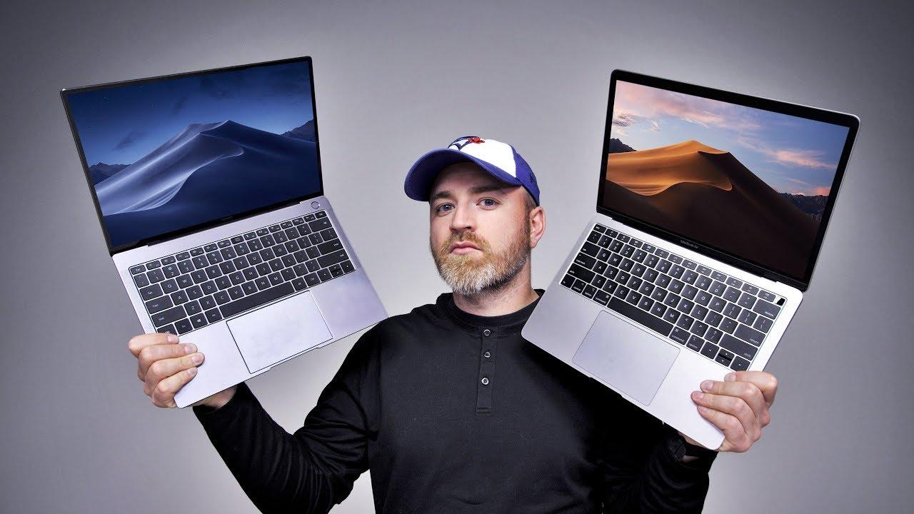 Das Huawei Windows MacBook Pro + video