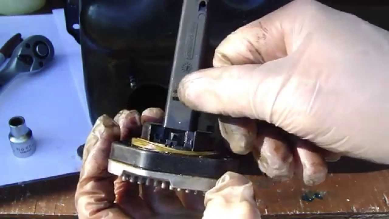 How to replace BMW oil sensor in oil sump  Years 2005 to 2013