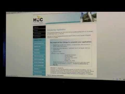 How to apply for scholarships at Houston Community College