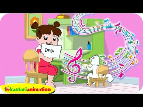 Sudah Malam, Waktunya Diva Belajar   Lagu Anak Indonesia   Kastari Animation Official