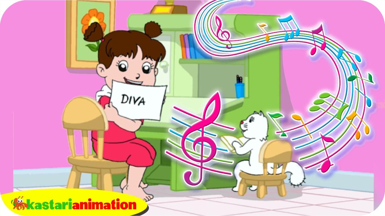 Sudah Malam, Waktunya Diva Belajar | Lagu Anak Indonesia | Kastari Animation Official