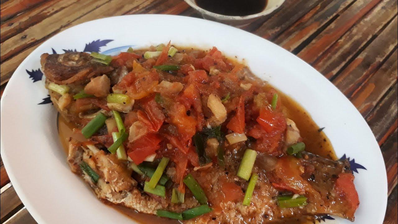 Món ăn miền Tây – Cá phi sốt cà chua