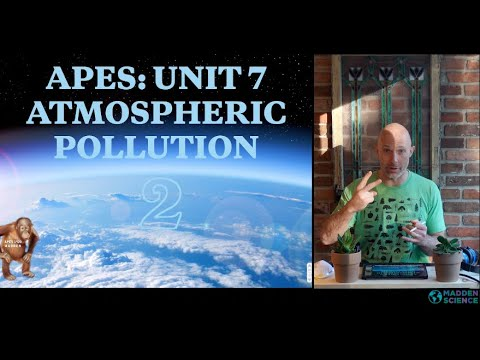 AIR POLLUTION: APES Unit 7: Flipped Classroom Lesson [Part 2]