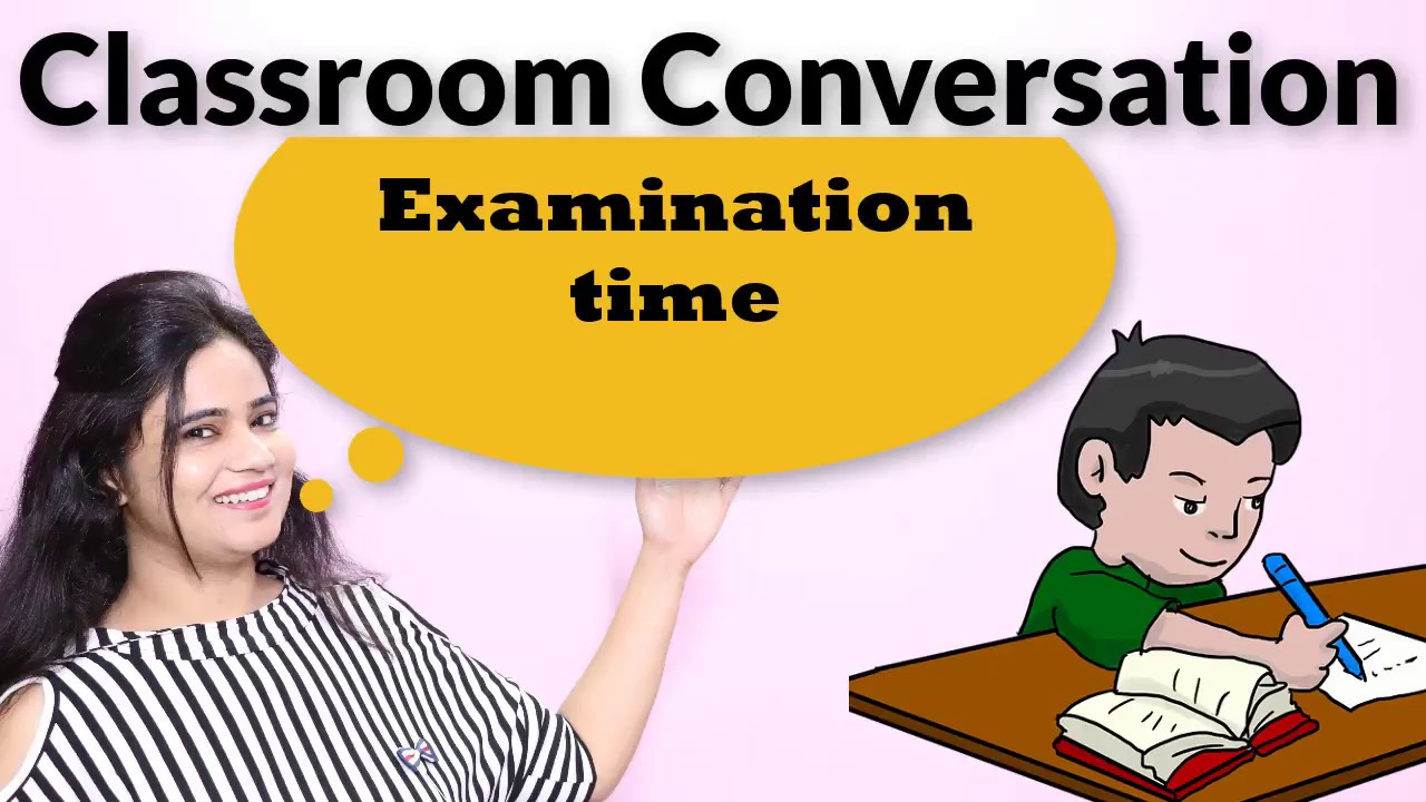 English conversation between teacher and student - Classroom English - part  - 73 - Learn English