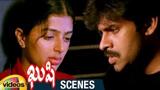 Pawan Kalyan and Bhumika Confess Love to Each Other | Kushi Telugu Movie Scenes | Mango Videos