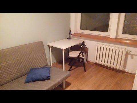 видео: АРЕНДА комнаты в Варшаве. ЦЕНЫ. Живой ПРИМЕР. Польша  жилье