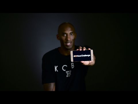 Kobe Bryant and Lenovo team up for #81HourChallenge