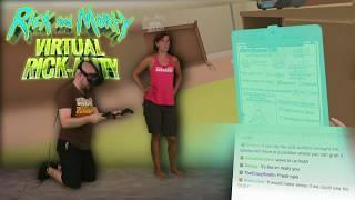 Rick and Morty: Virtual Rick-ality AWESOME!