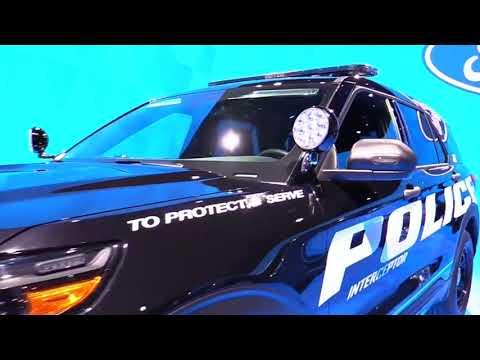 2020 Ford Explorer Police Interceptor Edition Design Special First Impression Lookaround