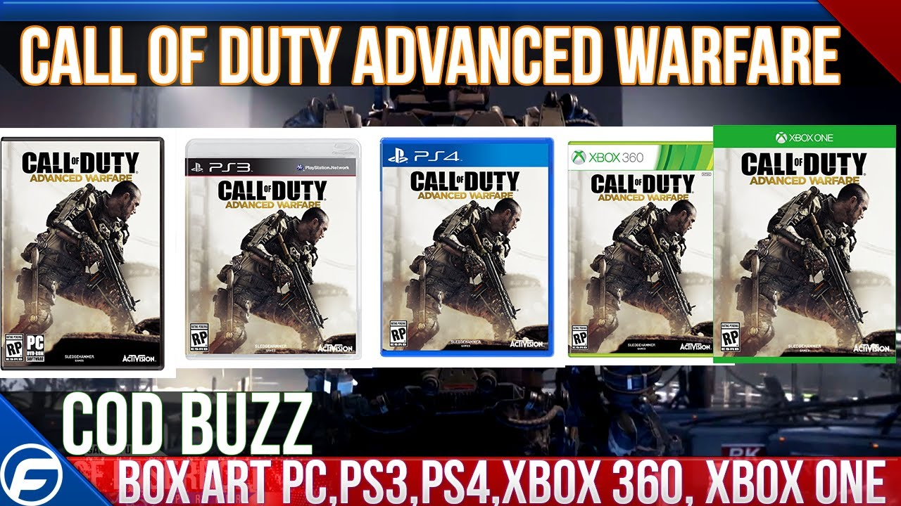 Call of Duty Advanced Warfare BOX ART XBOX 360 XBOX ONE ...