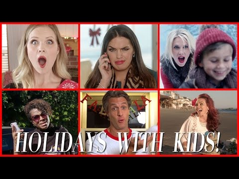 Holidays with Kids! (MUSIC VIDEO) ft. The Moms of TMV, Kandee Johnson and The Holderness Family