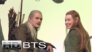 THE HOBBIT: THE BATTLE OF THE FIVE ARMIES - Behind The Scenes / B-Roll #1 - Official (2014) [HD]