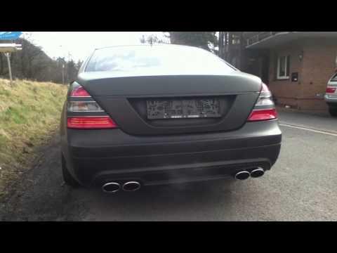Mercedes S500 Sound Exhaust