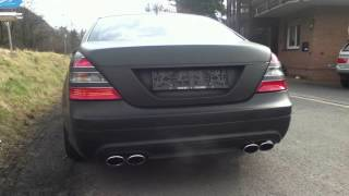 Mercedes S500 Sound Exhaust