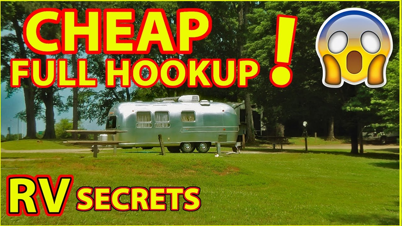 What Does Full Hookups Mean in an RV Park - Vehicle HQ