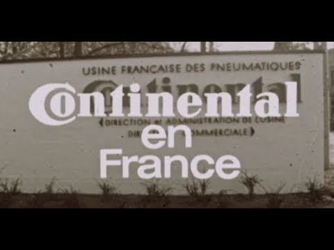 Dokumentation: Werkseröffnung 1964 in Sarreguemines | Continental