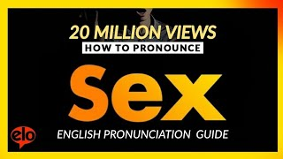 How To Pronounce Sex   |  Definition and Pronunciation (Human Voice)