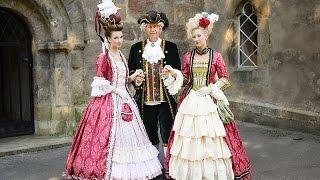 Rokoko Schiff Frisur, Marie Antionette ´La Belle Poule´ 1000 Jahr-Feier mit Salon Herbert