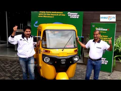 Bajaj Auto Maxima C Launched at Hyderabad Ex-Showroom price Rs 1,86,500 - hybiz