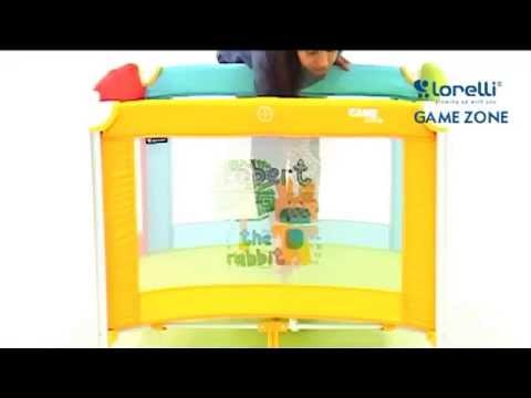 Сгъваема детска кошара за игра Baby Cot GAME ZONE Lorelli Bertoni