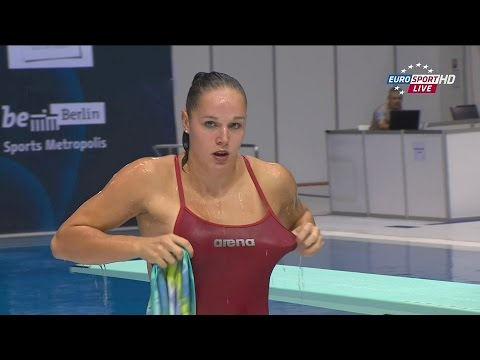 Berlin2014 Women's 1m springboard final