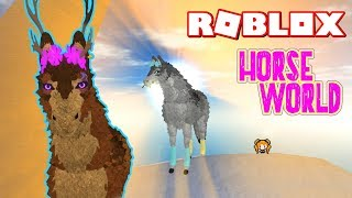 ROBLOX HORSE WORLD WOLF GAMEPASS WITH FUNNY EMOTES! BEST NEW ROLEPLAY CHARACTER + They Made Me VIP