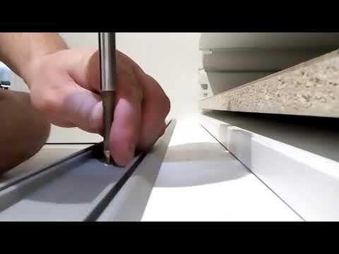 Как установить двери в шкаф купе своими руками