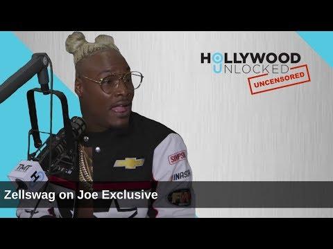 Zellswag talks Joe Exclusive on Hollywood Unlocked [UNCENSORED]