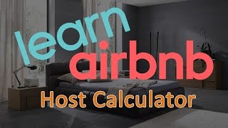 Gambar cover Airbnb Host Calculator - What can you earn with Airbnb?