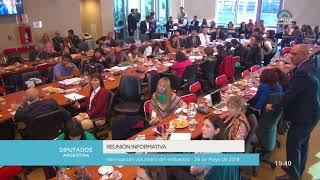 Reunión informativa sobre la interrupción voluntaria del embarazo 10/11